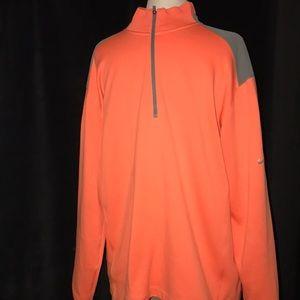 NIKE Men's Pullover 1/4 Zip GOLF TOUR DRI-FIT PERFORMANCE Jacket Size L